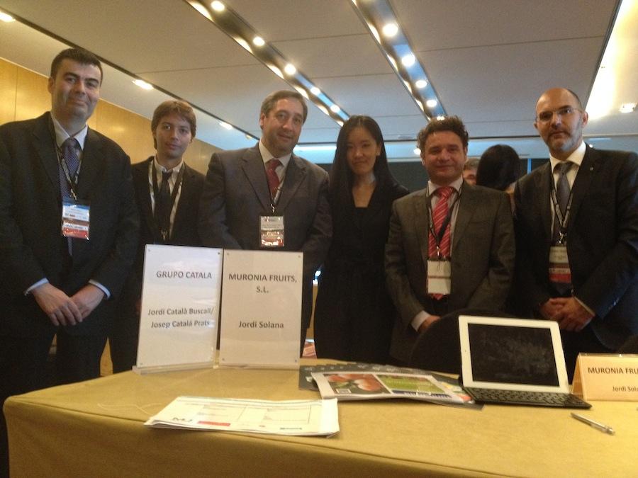 Delegación catalana en China